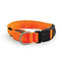 LD05M Ошейник светодиодный неоновый оранжевый