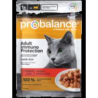 ProBalance Immuno Protection Cat с говядиной