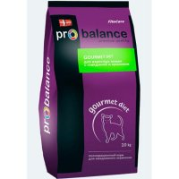 Probalance Cat Gourmet diet Adult (говядина и кролик)