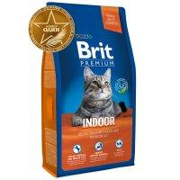 Brit Premium Cat Indoor (Курица и печень)