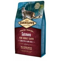 Сухой корм для кошек Carnilove Salmon for Adult Cats Sensitive & Long Hair