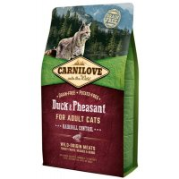 Сухой корм для кошек Carnilove Duck&Pheasant for Adult Cats Hairball Control