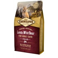 Сухой корм для кошек Carnilove Lamb&Wild Boar for Adult Cats Sterilised