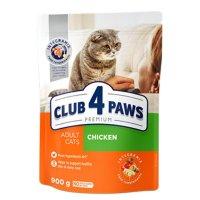 Club 4 Paws для взрослых кошек (Курица)