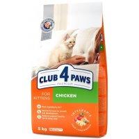 Club 4 Paws для котят (Курица)
