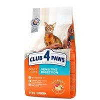 Club 4 Paws для взрослых кошек с чувств. пищеварением