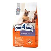 Club 4 Paws для взрослых кошек, живущих в помещении