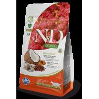 Farmina N&D Cat Quinoa Skin & Coat (Сельдь, киноа, кокос, куркума)