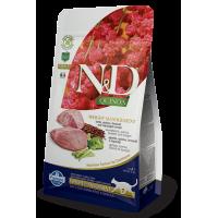 Farmina N&D Cat Quinoa Weight Management (Ягненок, киноа, брокколи, спаржа)