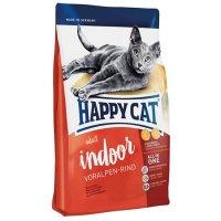 Happy Cat Adult Indoor (Баварская говядина)