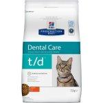 Сухой корм для кошек Hill's Prescription Diet t/d Dental Care для кошек (курица)