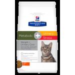 Сухой корм для кошек Hill's Prescription Diet Metabolic + Urinary Stress Feline для кошек (курица) сухой корм