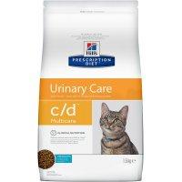 Hill's Prescription Diet c/d Multicare Urinary Care для кошек с рыбой