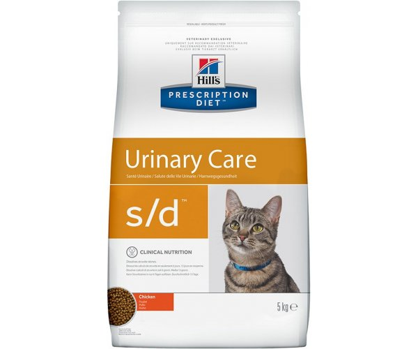 Сухой корм Hill's Prescription Diet s/d Urinary Care для кошек (курица)