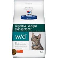 Сухой корм для кошек Hill's Prescription Diet w/d Digestive/Weight Management для кошек (курица)