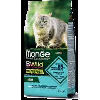 Monge Cat Bwild Grain Free Adult (Треска)