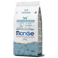 Сухой корм для кошек Monge Cat Monoprotein Kitten Trout