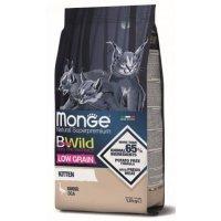 Сухой корм для кошек Monge Superpremium Cat Bwild Kitten Goose