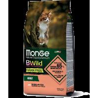 Monge Cat Bwild Grain Free Adult (Лосось)