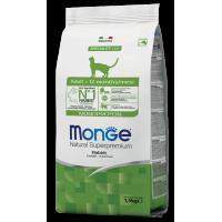 Сухой корм для кошек Monge Cat Monoprotein Adult Rabbit