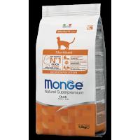 Сухой корм для кошек Monge Cat Monoprotein Sterilized Duck