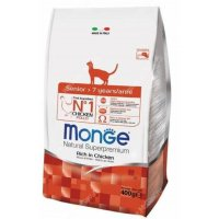 Сухой корм для кошек Monge Cat Senior