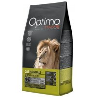 Optima Nova Cat Hairball (Курица и рис)