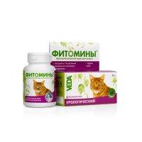 """VEDA Фитомины """"Урологический комплекс"""" для котов"""
