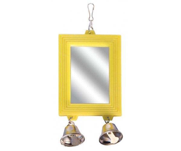 "Triol BR7 Игрушка-зеркало для птиц ""Колокольчики"""