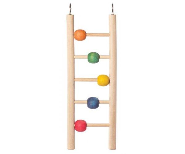 "Triol Игрушка для птиц ""Лестница с шариками"""