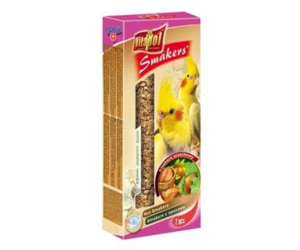 """Vitapol"" Smakers Зерновые палочки с орехами д/нимф, 45 г"
