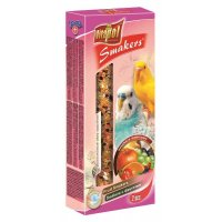 Vitapol Smakers фруктовый для волн. попугаев, 90 г