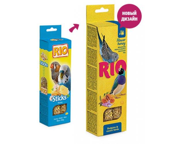 RIO Sticks Для волн. попугаев и экзотов (Мед)