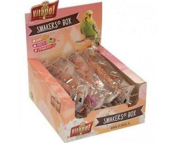 """Vitapol"" Smakers Box с клубникой для волн. попугаев"