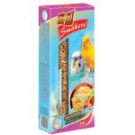 """""""Vitapol"""" Smakers 3в1 для волн. попугаев (яйцо/мед/фрукты), 130 г"""