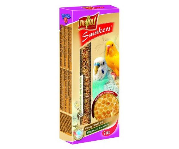 """Vitapol"" Smakers с медом для волнистых попугаев, 90 г"