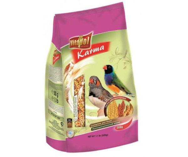 Vitapol Корм для амадин и экзотических птиц, 500 г
