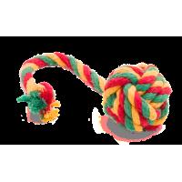 """Doglike """"Dental Knot"""" Мяч канатный, цветной"""