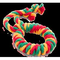 """Doglike """"Dental Knot"""" Кольцо канатное, цветное"""