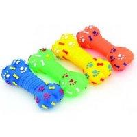 """Lilli Pet игрушка с пищалкой """"Косточка со следами лап"""""""