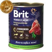 Brit Premium Dog (Говядина и сердце)