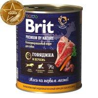 Brit Premium Dog (Говядина и печень)