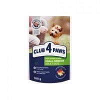 Club 4 Paws для собак с курицей в желе