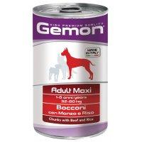 Консервы для собак Gemon Dog Maxi Adult Beef/Rice