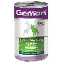 Консервы для собак Gemon Dog Medium Adult Lamb/Rice