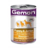 Gemon Консервы Dog Puppy Chicken/Turkey