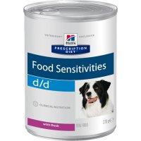 Консервы для собак Hill's d/d Food Sensitivities влажный корм для собак с уткой