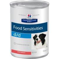 Консервы для собак Hill's d/d Food Sensitivities влажный корм для собак с лососем