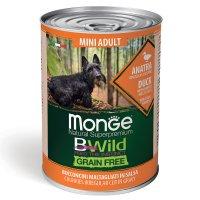 Консервы Monge BWild GF Mini Adult (Утка)