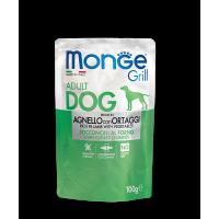Пауч Monge Grill Adult Dog Lamb/Vegetables